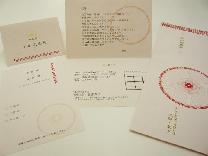デザインNo,20 紙:フェザーワルツ 桜 120kg(B-126)